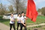 9 апреля в районе стартовала акция « Знамя Победы»